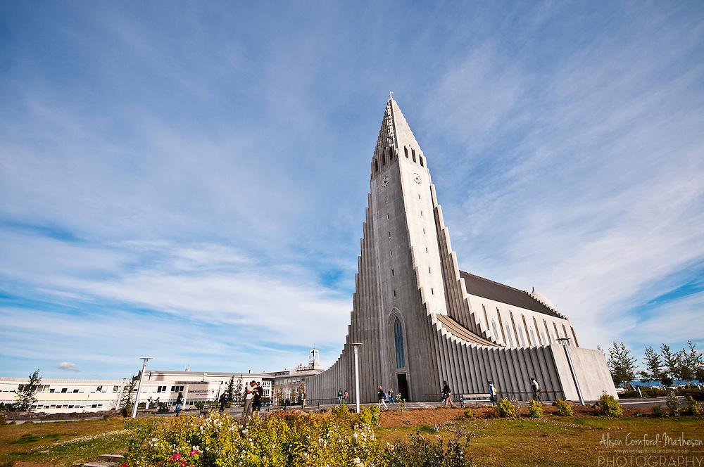 The Hallgrímskirkja or Hallgrímur's Church is a Lutheran church in Reykjavik, Iceland.