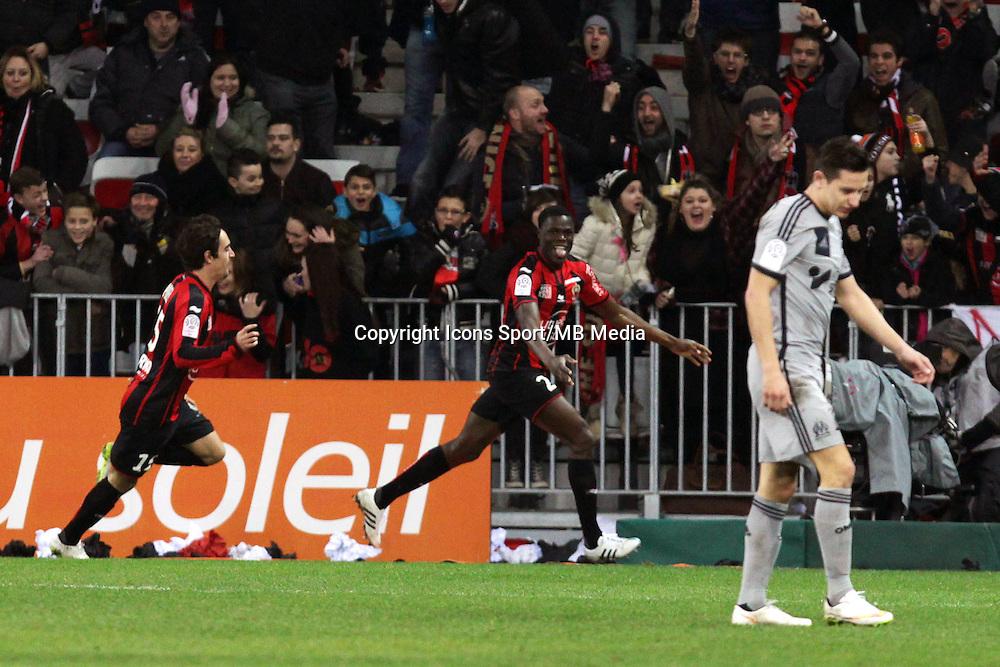 Romain GENEVOIS  - 23.01.2015 - Nice / Marseille - 22eme journee de Ligue 1<br />Photo : Jean Christophe Magnenet / Icon Sport
