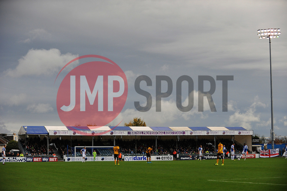 Storm clouds over the Memorial Stadium - Mandatory byline: Neil Brookman/JMP - 07966 386802 - 24/10/2015 - FOOTBALL - Memorial Stadium - Bristol, England - Bristol Rovers v Newport County AFC - Sky Bet League Two
