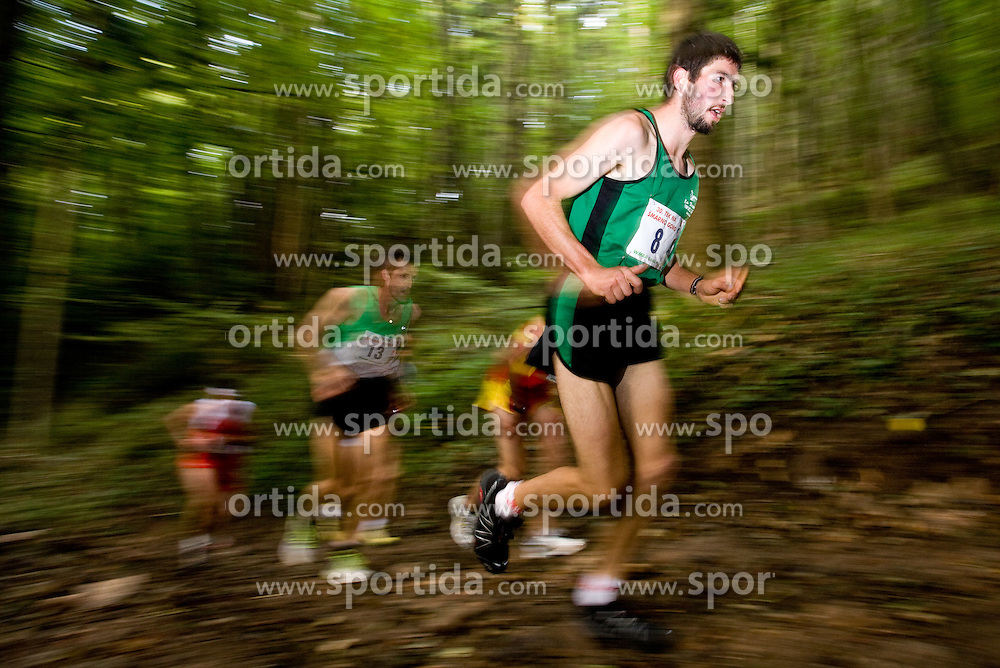 Eris Costa of Italy at the 30th Smarna Gora Mountain running race as the final race of WMRA GRAND PRIX and Slovenian mountain running cup, on October 3, 2009, Smarna Gora, Ljubljana, Slovenija. (Photo by Vid Ponikvar / Sportida)