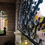 Fall colors at Gonzaga. (Photo by Rajah Bose