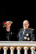 19-11-2016 - MONACO - Princess Charlene of Monaco with Princess Gabriela and Prince Albert II of Monaco with Prince Jacques . The National Day of Monaco also known as The Sovereign Prince's Day is currently annually celebrated on 19 November.  COPYRIGHT ROBIN UTRECHT<br /> <br /> 19-11-2016 - MONACO - Prinses Charlene van Monaco met Prinses Gabriela en Prins Albert II van Monaco met Prins Jacques. De Nationale Dag van Monaco ook bekend als The Sovereign Prinsjesdag wordt momenteel jaarlijks gevierd op 19 november. COPYRIGHT ROBIN UTRECHT
