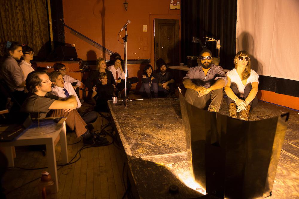 CAFÉ CONCRET #22: ONDE-CORPUSCULE / PARTICLES AND WAVES, LA SALA ROSSA. Jeudi 22 octobre 2015.