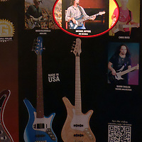 Image of Michael Jeffers (with Joe Nichols) used in Carvin ad for May, 2011 issue of Bass Player magazine