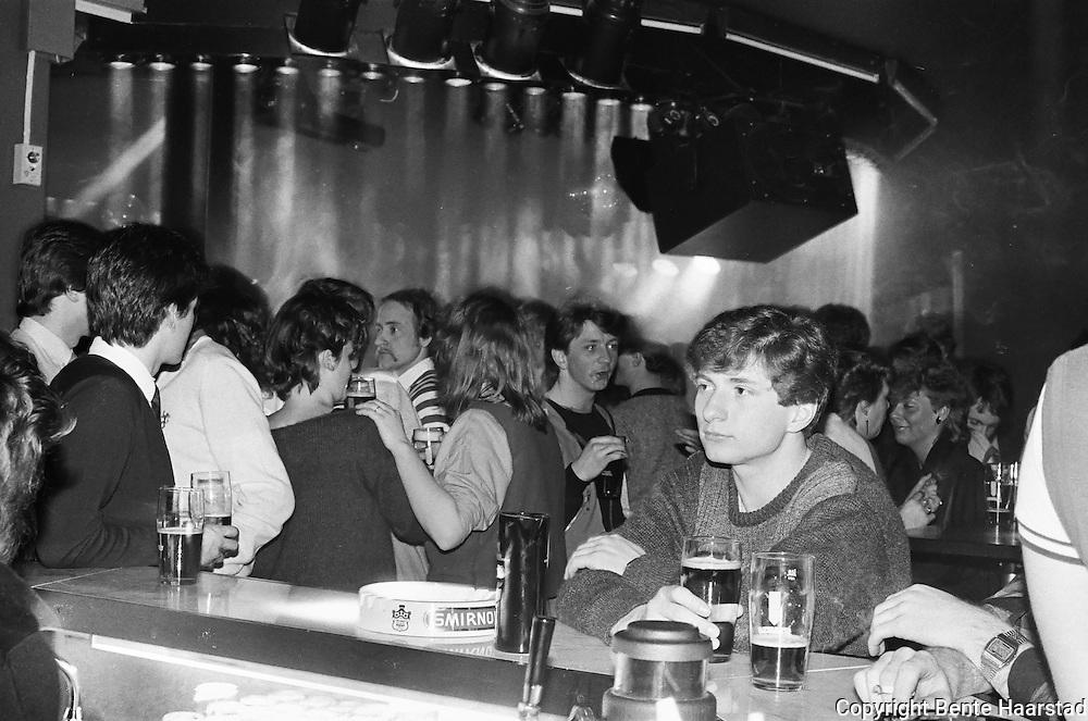 Uteliv i Trondheim på 1980-tallet. Diskotektet Hollywood.