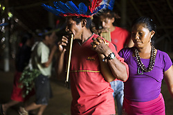 Party time, celebration dance and flutes at the House of Knowledge. Tools and connections to empower the community.<br />