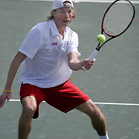 Alabama Mens Tennis vs Kentucky.Sammy Struyf.March 5, 2006..Action.Photo By Elliot Knight.Copyright © 2002-06, The University of Alabama. All rights reserved.  No part of this site may be reproduced without written permission..