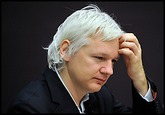 File photo - Julian Assange wanted for questioning