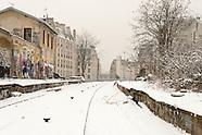 La petite ceinture sous la neige  PR423A