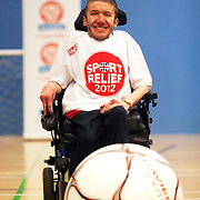 Wheelchair football stunt, Bletchley Leisure Centre, Milton Keynes