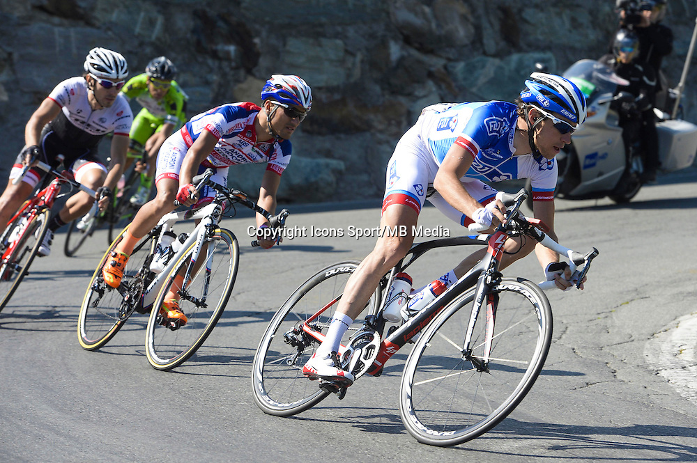 Alexandre Geniez - FDJ - 29.05.2015 - Tour d'Italie - Etape 19 :  Gravellona Toce / Cervinia<br />Photo : Sirotti / Icon Sport
