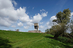 Luchtwachttoren Strijensas, Strijen, Zuid Holland, Netherlands