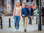 BRUSSELS -First school day in brussels queen mathilde takes prince and princess Prince Emmanuel, Princess Eleonore, Prince Gabriel, Crown Princess Elisabeth,   them to school  COPYRIGHT  ROBIN UTRECHT<br /> BRUSSEL - Eerste schooldag in brussel koningin Mathilde neemt prins en prinses Prins Emmanuel, Princesse Eleonore, Prins Gabri&euml;l, Crown Princess Elisabeth, ze naar school COPYRIGHT ROBIN UTRECHT<br /> Belgian Royals walk to Sint Jan Berchmans College, Brussels, Belgium - 01 Sep 2016