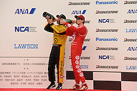 Scott Dixon, Dario Franchitti, Bridgestone Indy 300 Japan, Motegi, Japan