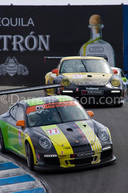 #77 Topp Racing Porsche 911 GT3 Cup: Seth Davidow