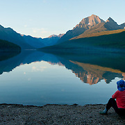 Montana: Glacier NP: Bowman Lake, Flathead River North Fork