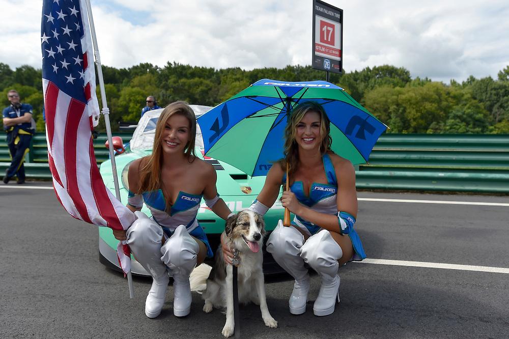 22-24 August 2014, Alton, Virginia USA<br /> Falken tire grid girls<br /> &copy;2014, Scott R LePage <br /> LAT Photo USA