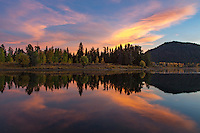 Oxbow Bend in Grand Teton National Park at sunset