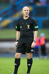 Referee Stephen Finnie..Cowdenbeath 4 v 1 Falkirk, 9/2/2013..©Michael Schofield.