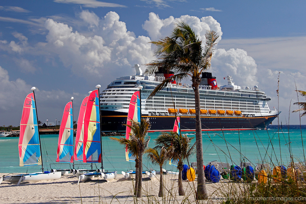 Caribbean, Bahamas, Castaway Cay. Disney Fantasy and sailing rentals at Castaway Cay.