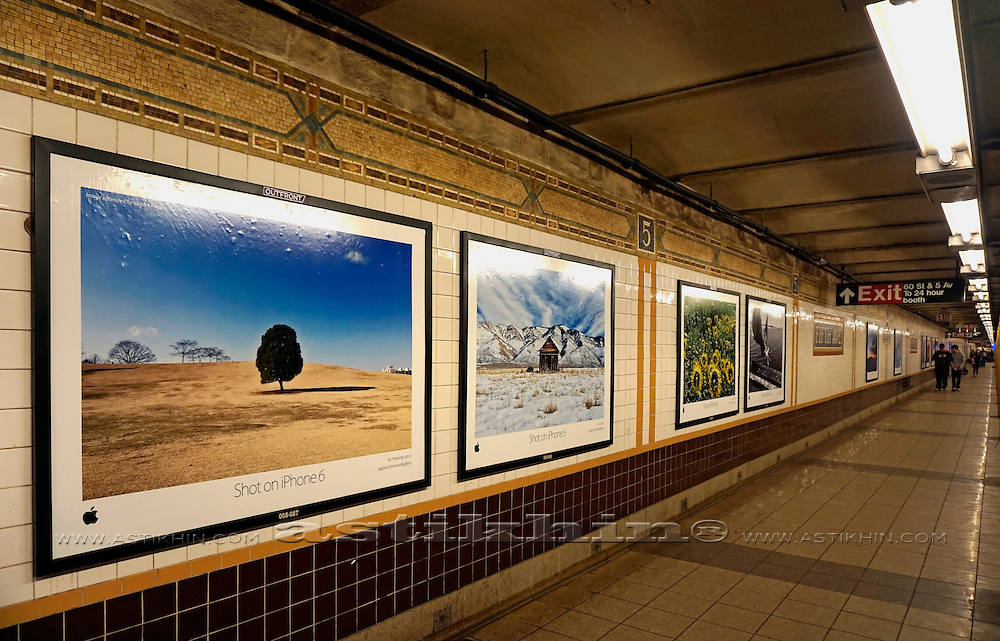 5th Ave. subway station gallery.