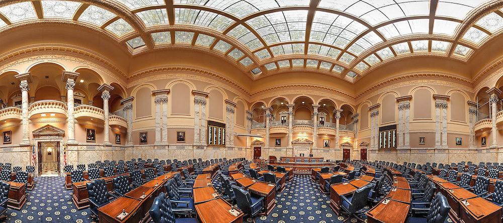 Maryland State House,Maryland House of Delegates chamber
