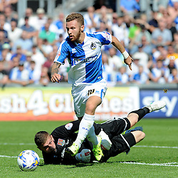Matt Taylor - Mandatory byline: Neil Brookman/JMP - 07966386802 - 08/08/2015 - FOOTBALL - Memorial Stadium -Bristol,England - Bristol Rovers v Northampton Town - Sky Bet League Two
