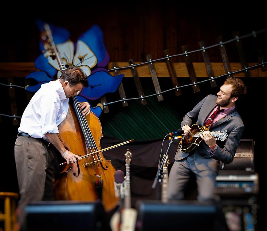 Edgar Meyer and Chris Thile at Telluride Bluegrass 2011