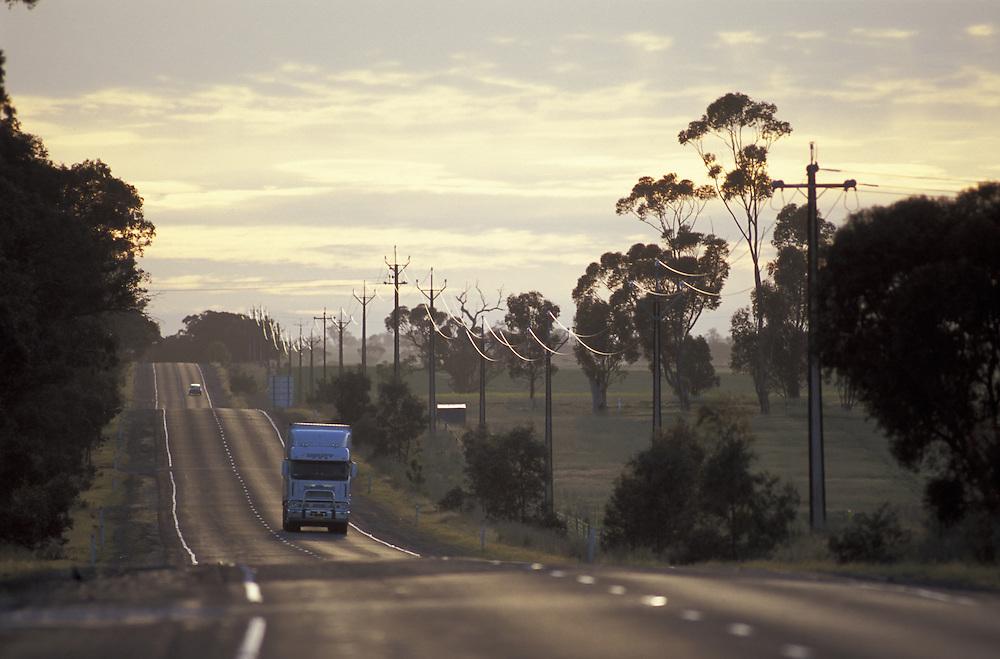 Hwy A 8, Dukes Highway.near Bordertown.South Australia.Australia