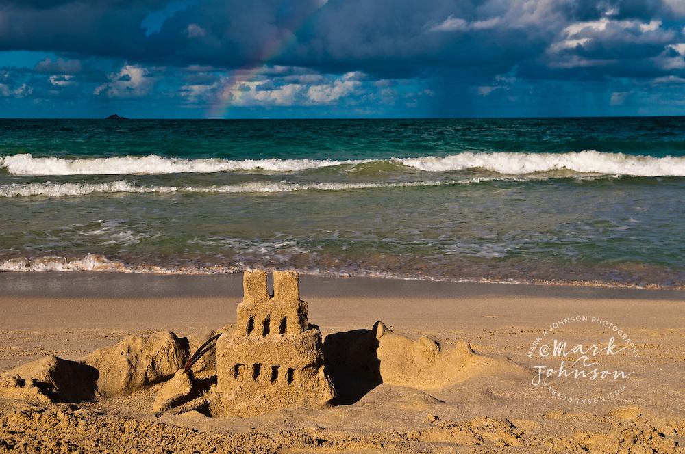 Castle Beach Kailua Sand Castle on Kailua Beach