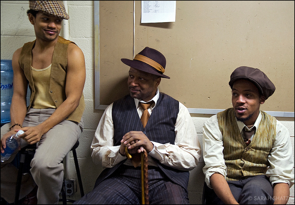 Backstage at Porgy and Bess, 75th anniversary production, directed by Charles Randolph-Wright.