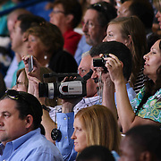 Family and friend watch Conrad commencement exercises Saturday, June 06, 2015, at The Bob Carpenter Sports Convocation Center in Newark, Delaware.