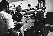 Bronx, New York: Boxing club