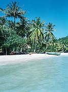 A hut on Bai Sao (Star Beach.)