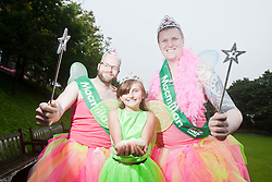 Macmillan Cancer Support photocall at Princes Street gardens..©Pic : Michael Schofield.