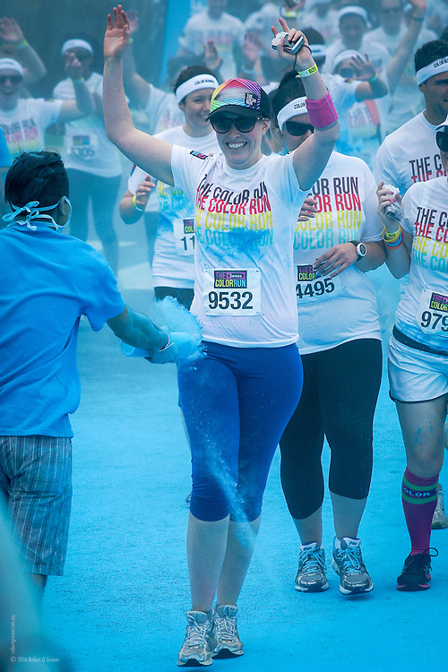 The Color Run Melbourne 2012 - Blue zone