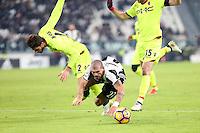 can - 08.01.2017 - Torino - Serie A 2016/17 - 19a giornata  -  Juventus-Bologna nella  foto: il fallo da rigore su  Stefano Sturaro