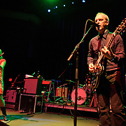 WASHINGTON, D.C. - OCTOBER 2nd, 2010:  The Vaselines, one of Glasgow, Scotland's most celebrated 80's indie-pop band's, perform at the 9:30 Club in Washington, D.C. The band reunited in 2008 and are currently touring behind a new album, Sex With An X, which was released in September. (Photo by Kyle Gustafson/For The Washington Post)