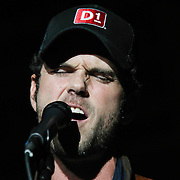 Country singer Chuck Wicks a Native Delawarean performs at the Delaware 87ers post game concert Friday, March. 21, 2014 at The Bob Carpenter Sports Convocation Center in Newark, DEL