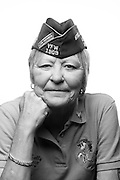 Linda Kelly<br /> Air Force<br /> Tech.Sgt. (E-6)<br /> Professional Military Training, Protocol<br /> 1975-1997<br /> Korea<br /> <br /> Veterans Portrait Project<br /> Louisville, KY<br /> VFW Convention <br /> (Photos by Stacy L. Pearsall)