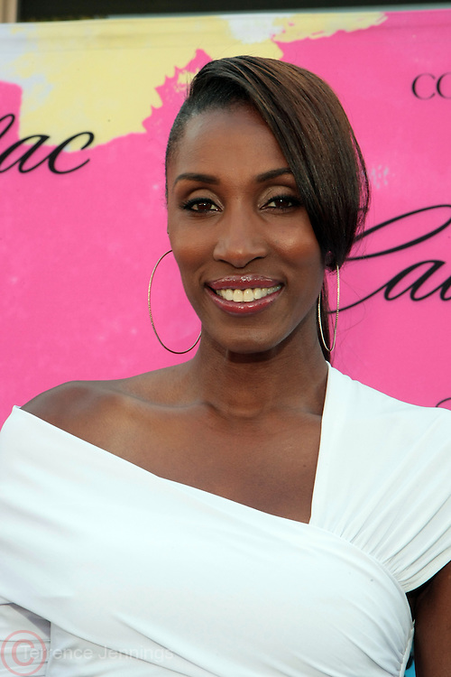 "Los Angeles, CA-June 29:  Former WBA Player Lisa Leslie attends the Seventh Annual "" Pre "" Dinner celebrating BET Awards hosted by BET Network/CEO Debra L. Lee held at Miulk Studios on June 29, 2013 in Los Angeles, CA. © Terrence Jennings"