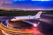 Photographed on the ramp at Opa-locka Executive Airport, near Miami.