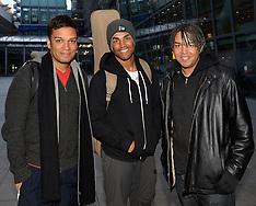 FEB 17 2014 Michael Jackson's Nephews 3T Arrive