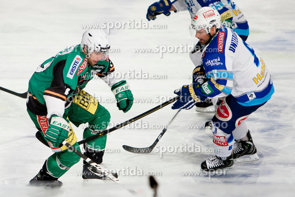 04.01.2012, Stadium Bezigrad, Ljubljana, SLO, EBEL, HDD Telemach Olimpija Ljubljana vs EC VSV 38. Runde, in picture  during the Erste Bank Icehockey League 38th Round match between HDD Telemach Olimpija Ljubljana and EC VSV at the open ice winter classic Stadium Bezigrad, Ljubljana, Slovenia on 2013/01/04. (Photo By Urban Urbanc / Sportida)