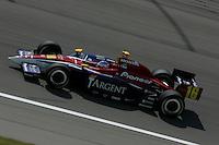 Danica patrick at the Kansas Speedway, Kansas Indy 300, July 3, 2005