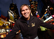 Johnny Damon -- Times Square, New York, NY