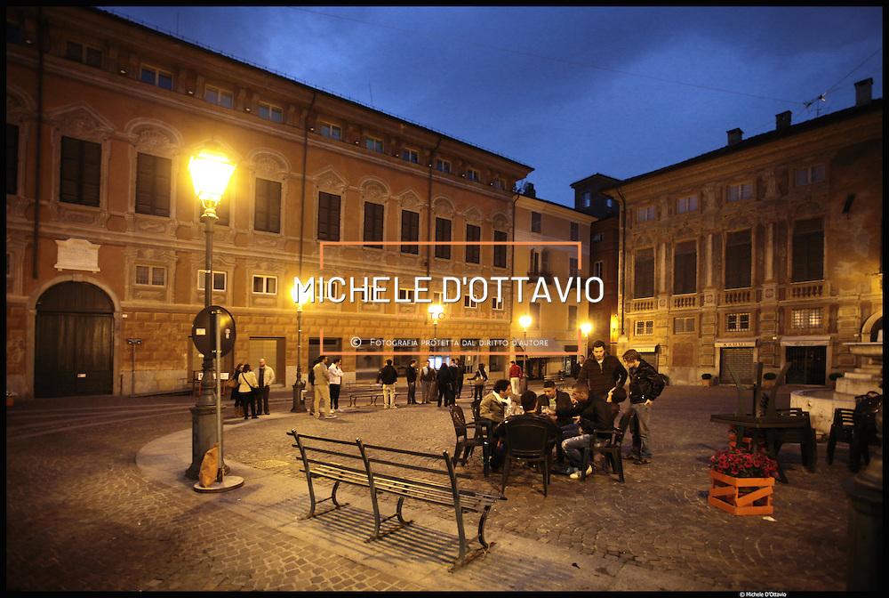 Nella foto Palazzo Delle Piane, oggi di proprietà comunale in piazza Delle Piane...Novi Ligure, terzo comune per popolazione della provincia di Alessandria.