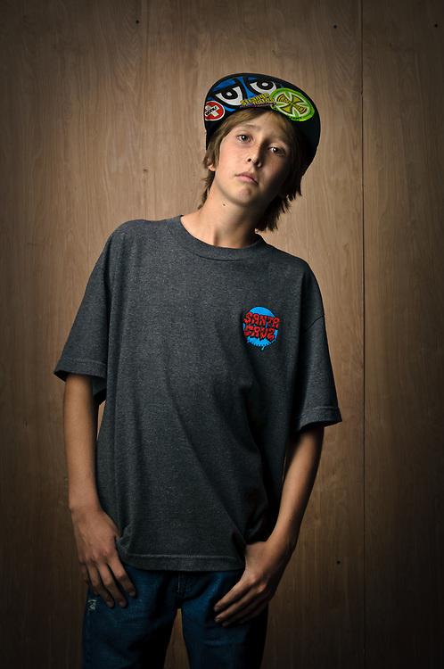 Chasen Christensen, skateboarder   Board Rescue