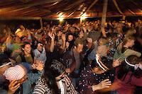 First nation spiritual gathering of Maniwaki, Quebec.