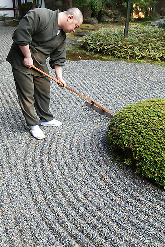 Japanese Gardener #4: Rev Takafumi Kawakami Is The Vice-abbot At Shunkoin Temple And Teaches  Classes About Zen.
